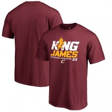Cavaliers LeBron James Hometown Collection King James T-Shirt