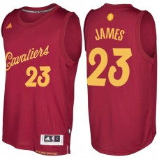 Cleveland Cavaliers #23 LeBron James Christmas Jersey