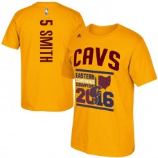 Cleveland Cavaliers #5 JR Smith Finals T-Shirt