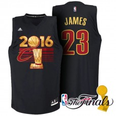 Cleveland Cavaliers #23 Lebron James Champions Jersey
