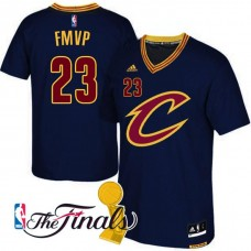 Cleveland Cavaliers #23 Lebron James Black Champions Jersey