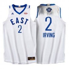 Cleveland Cavaliers #2 Kyrie Irving White 2016 All-Star Jersey