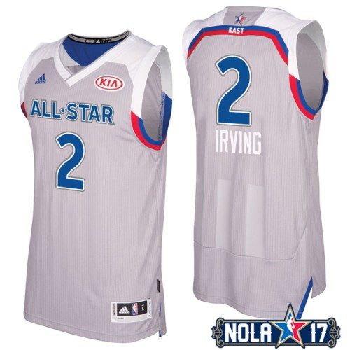 Cleveland Cavaliers #2 Kyrie Irving Gray 2017 All-Star Jersey