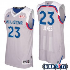 2017 All-Star LeBron James #23 Cavaliers Gray Eastern Conference Jersey