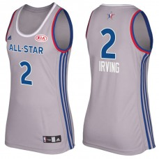 Women's Cleveland Cavaliers #2 Kyrie Irving 2017 All-Star Jersey