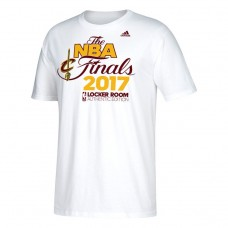 2017 Eastern Conference Champion Cavaliers Locker Room White T-Shirt