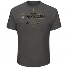 2017 Finals Cavaliers Metallic Logo Gray T-Shirt