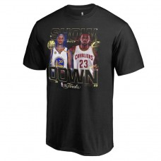 Youth 2017 Finals Cavaliers vs Warriors Bound Dueling Player Match Up Black T-Shirt