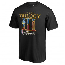 Youth 2017 Finals Cavaliers vs Warriors Bound Dueling Trilogy Black T-Shirt