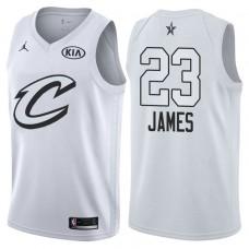 Cleveland Cavaliers #23 LeBron James White Swingman 2018 All-Star Jersey