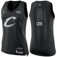 Women's Cleveland Cavaliers #0 Kevin Love 2018 All-Star Jersey