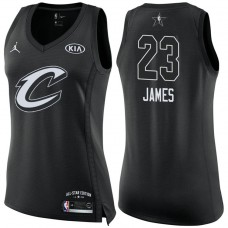 Women's Cleveland Cavaliers #23 LeBron James 2018 All-Star Jersey