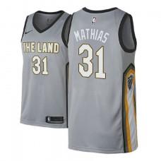 2018 Draft Dakota Mathias Cavaliers City Edition Gray Jersey