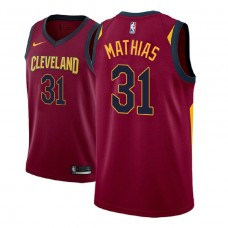 Cleveland Cavaliers #31 Dakota Mathias Icon Jersey