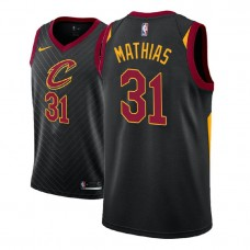 Cleveland Cavaliers #31 Dakota Mathias Black Statement Jersey