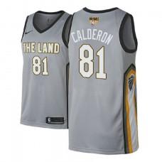 Cleveland Cavaliers #81 Jose Calderon City Jersey