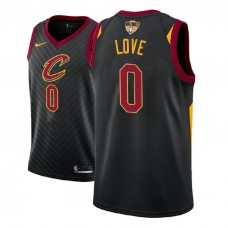 Cleveland Cavaliers #0 Kevin Love Black Statement Jersey