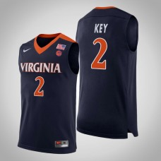 Virginia Cavaliers #2 Braxton Key College Basketball Jersey