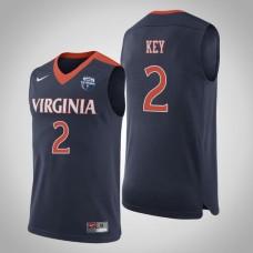 Virginia Cavaliers #2 Braxton Key 2019 Basketball Champions Jersey