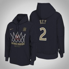 Virginia Cavaliers #2 Braxton Key 2019 Basketball Champions Hoodie