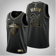 Cleveland Cavaliers #31 John Henson Black Golden Edition Jersey