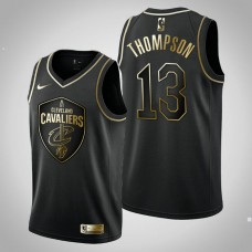 Cleveland Cavaliers #13 Tristan Thompson Black Golden Edition Jersey