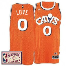 Cleveland Cavaliers #0 Kevin Love Hardwood Classics Jersey