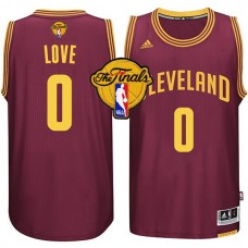2015 Finals Cavaliers Kevin Love Red Jersey
