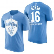 Cleveland Cavaliers #16 Cedi Osman Father's Day T-Shirt
