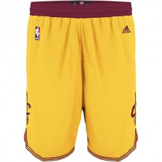 Cleveland Cavaliers James Irving Love Yellow Shorts
