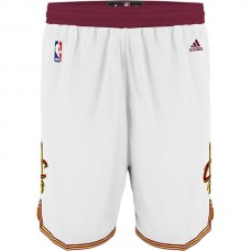 Cleveland Cavaliers James Irving Love White Shorts