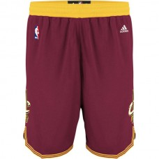 Cleveland Cavaliers James Irving Love Wine Red Shorts