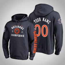 Virginia Cavaliers #00 Custom 2019 Basketball Champions Hoodie