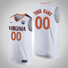 NCAA Custom Virginia Cavaliers White 2019 Basketball Champions Jersey