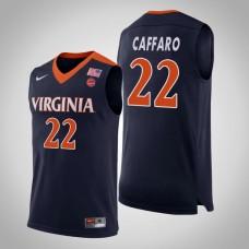 Virginia Cavaliers #22 Francisco Caffaro College Basketball Jersey