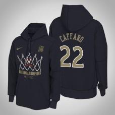 Francisco Caffaro NCAA Virginia Cavaliers Navy 2019 Basketball Champions Locker Room Pullover Hoodie