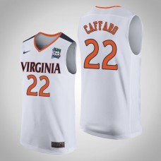 Virginia Cavaliers #22 Francisco Caffaro 2019 Final-Four Jersey