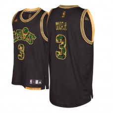 Cleveland Cavaliers #3 George Hill Black Military Camo Fashion Jersey