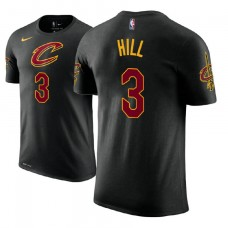 Cleveland Cavaliers #3 George Hill Black Statement T-Shirt