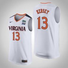 NCAA Grant Kersey Virginia Cavaliers White 2019 Final-Four Replica Jersey