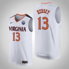 Virginia Cavaliers #13 Grant Kersey 2019 Basketball Champions Jersey