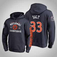 Virginia Cavaliers #33 Jack Salt 2019 Basketball Champions Hoodie