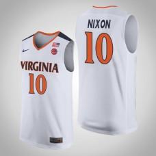 Virginia Cavaliers #10 Jayden Nixon College Basketball Jersey