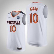 Virginia Cavaliers #10 Jayden Nixon White 2019 Basketball Champions Jersey