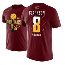 Cleveland Cavaliers #8 Jordan Clarkson Finals T-Shirt