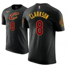Jordan Clarkson Cavaliers #8 Black Statement T-Shirt