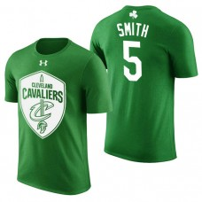 Cleveland Cavaliers #5 JR Smith Green St. Patrick's Day T-Shirt