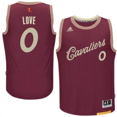 Cleveland Cavaliers #0 Kevin Love Christmas Jersey