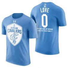 Cleveland Cavaliers #0 Kevin Love Father's Day T-Shirt