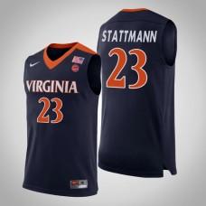 Virginia Cavaliers #23 Kody Stattmann College Basketball Jersey